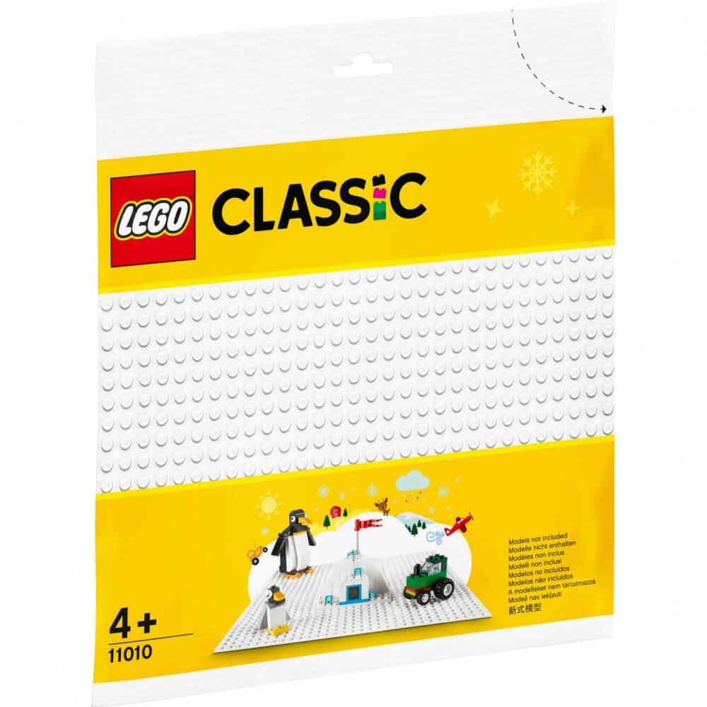 【オンライン限定価格】レゴ クラシック 11010 基礎板(白)