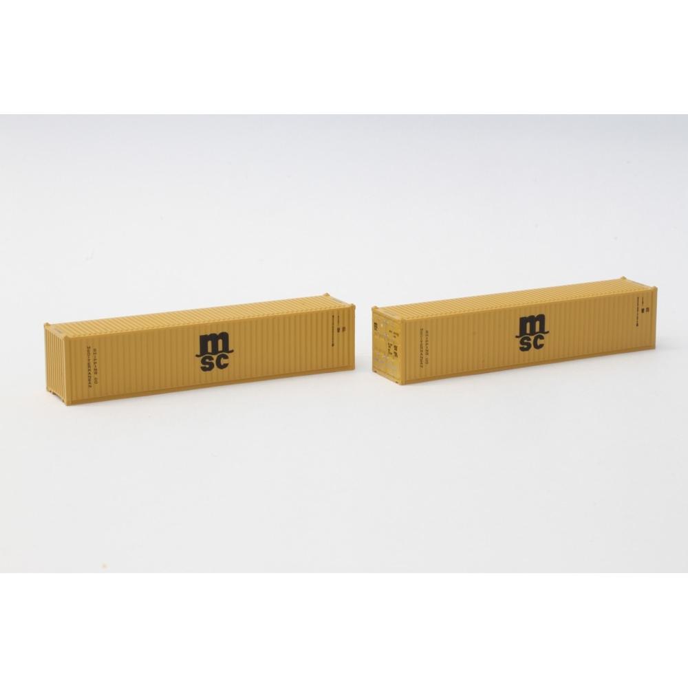 ロクハン MSC 40ft 海上コンテナ【オンライン限定】