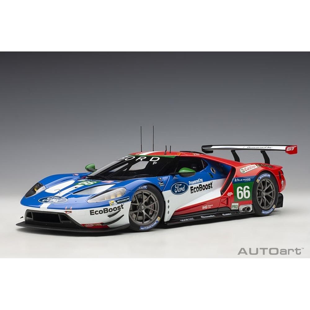 1/18 フォード GT 2016 #66 (ル・マン24時間レース LMGTE Proクラス4位)【オンライン限定】【送料無料】