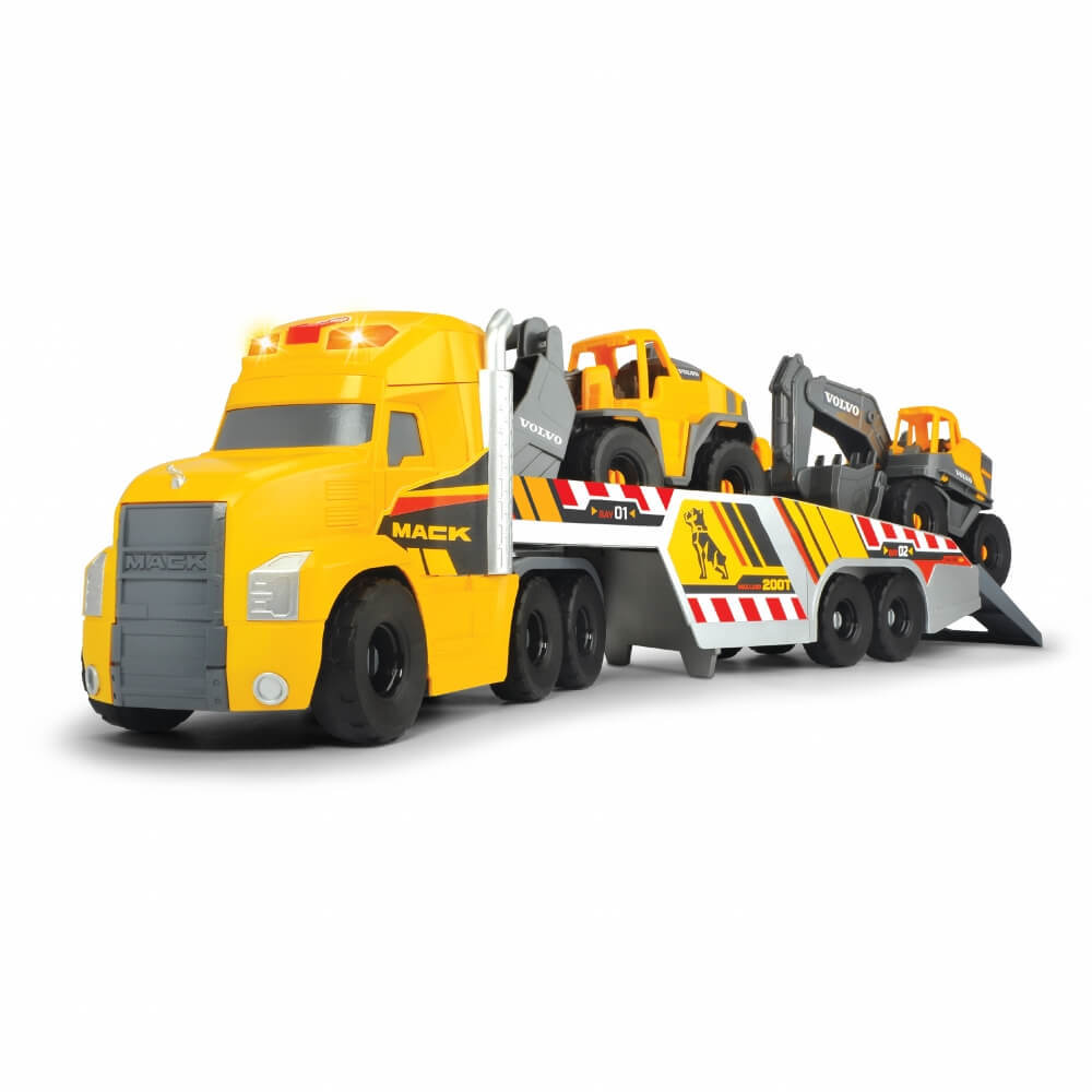DICKIE TOYS 品質保証 MACK VOLVO 国内正規品 ヘビーローダートラック