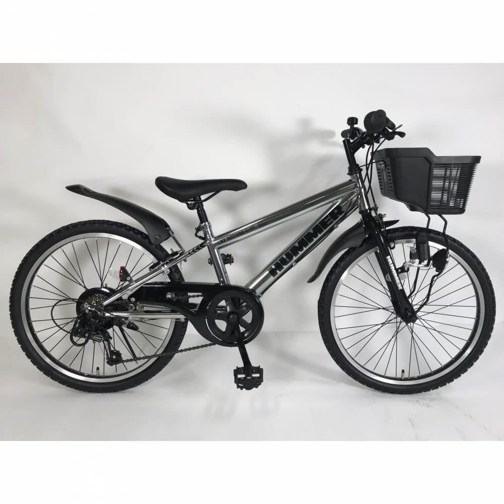 トイザらス限定 22インチ 子供用自転車 ガンメタ 226GLOW-TZ 国内在庫 新商品 ハマージュニアCTB