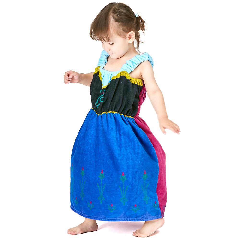 アナと雪の女王 プチドレス キッズラップドレス アナ 男女兼用 スーパーセール