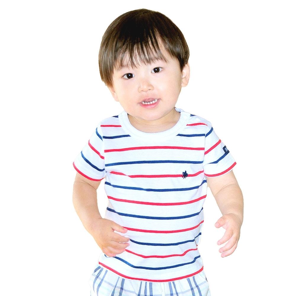 ベビーザらスオリジナル POLO 半袖Tシャツ 安全 買取 ボーダー ホワイト×70cm