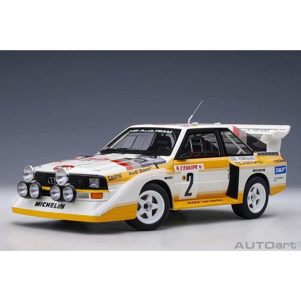 1/18 アウディ スポーツクワトロ S1 WRC '86 #2 (ロール/ガイストドルファー) モンテカルロ·ラリー【オンライン限定】【送料無料】