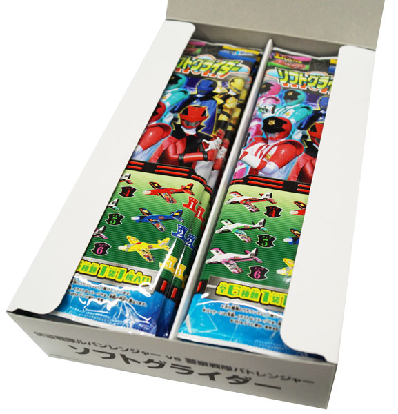 Excellent theft squadron Lupin Ranger VS Police squadron pato Ranger  software glider 1BOX (entering 12 packs)