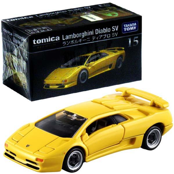 Toytoifactory Tomica Premium 15 Lamborghini Diablo Sv Rakuten