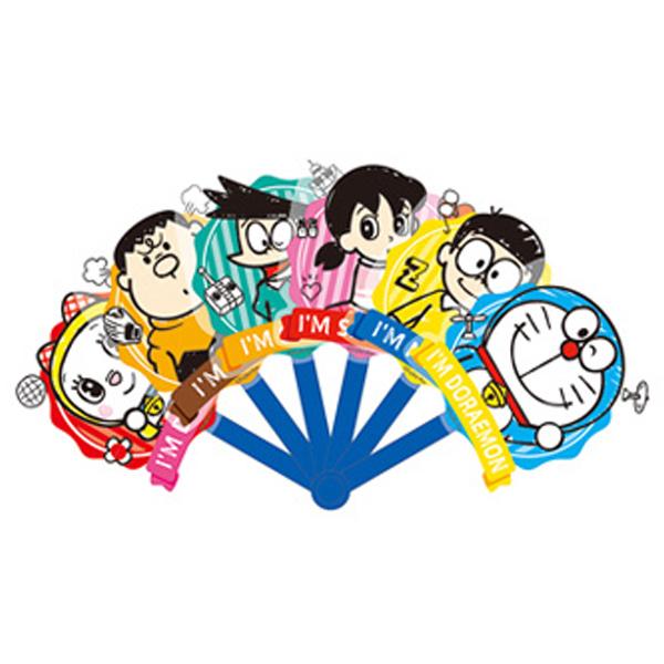 ドラえもん グッズ キャラクター 扇子 子ども チープ キッズ お祭り 夏祭り 盆踊り 花火大会 かわいい I'm 値下げ Doraemon メール便可 折りたたみ うちわ キャラクターおもしろファン イベント
