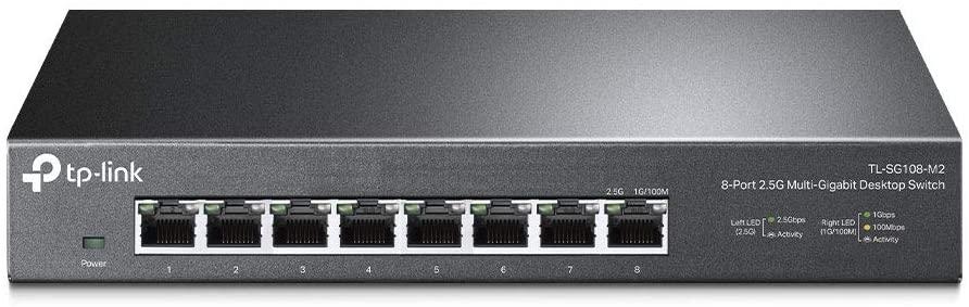 期間限定の激安セール アンマネージ スイッチングハブ 新作 人気 TP-Link 8ポート 各ポート 2.5Gbps 最大40Gbpsまで ハブ ポート同時使用時 TL-SG108-M2 対応