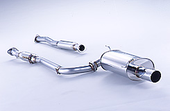 フジツボマフラー ■受注生産品(1~1.5カ月目安です) FGK レガリスR 【品番:760-54312】 CF6 アコードワゴン 2WD E、GF-CF6 F23A H9.10~H12.06