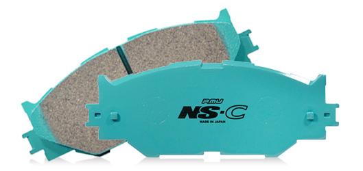 プロジェクトミュー ブレーキパッド NS-C ■Projectμ NS-C 【品番:F906/R906】 4輪ディスク車用1台分 WRX STI VAB 10.7~17.6 bremboフロント4POT/リア2POT(17.6月以降不可)
