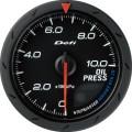 ■Defi アドバンスCRメーター【DF08902】60φ 黒 油圧計 (表示範囲:0kPa~1000kPa)