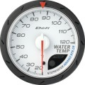 ■Defi アドバンスCRメーター【DF09201】60φ 白 水温計 (表示範囲:20℃~120℃)