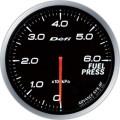 ■Defi メーター アドバンスBF 【DF10301】60φ ホワイト 燃圧計 (表示範囲:0kPa~600kPa)