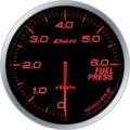 ■Defi メーター アドバンスBF 【DF10302】60φ アンバーレッド 燃圧計 (表示範囲:0kPa~600kPa)