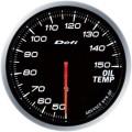 ■Defi メーター アドバンスBF 【DF10401】60φ ホワイト 油温計 (表示範囲:50℃~150℃)