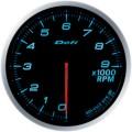 ■Defi メーター アドバンスBF 【DF10706】60φ ブルー Φ60タコメーター (表示範囲:0RPM~9000RPM)