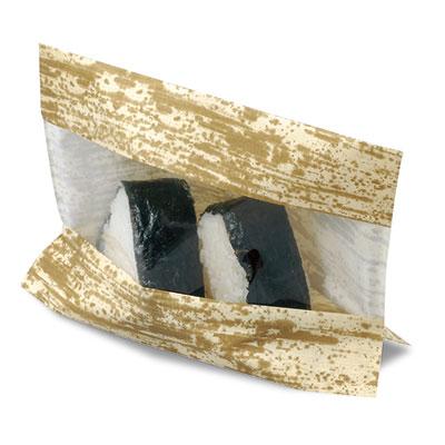 福助工業 パノラマパック KBA21-16 竹皮P(1ケース3,000枚)