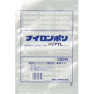福助工業 ナイロンポリ バリアTLタイプ規格袋 18-27 (1ケース1800枚)