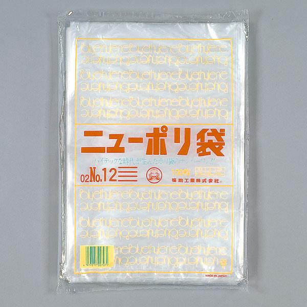 福助工業 ニューポリ規格袋0.02 No.6 (24000枚)