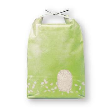 アサヒパック ひも付きパステルカラークラフト米袋 わかくさ 5kg用 (200枚)