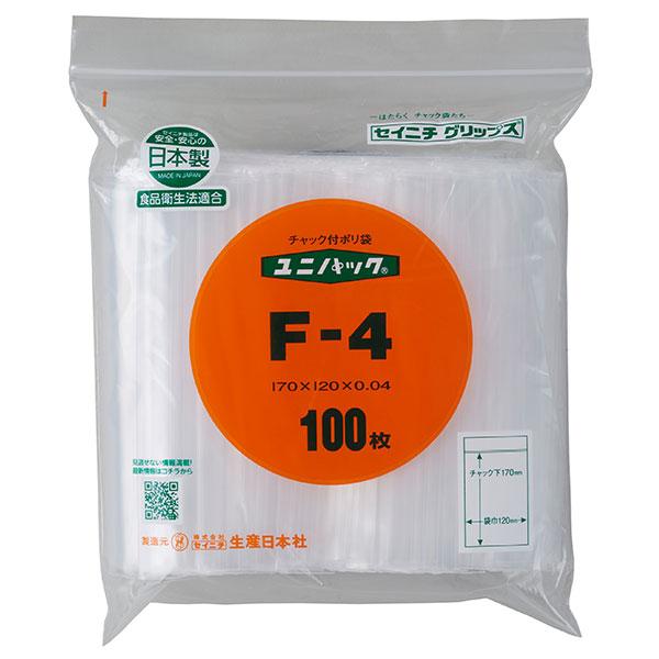 セイニチ ユニパック 0.04タイプ F-4(1ケース6000枚)