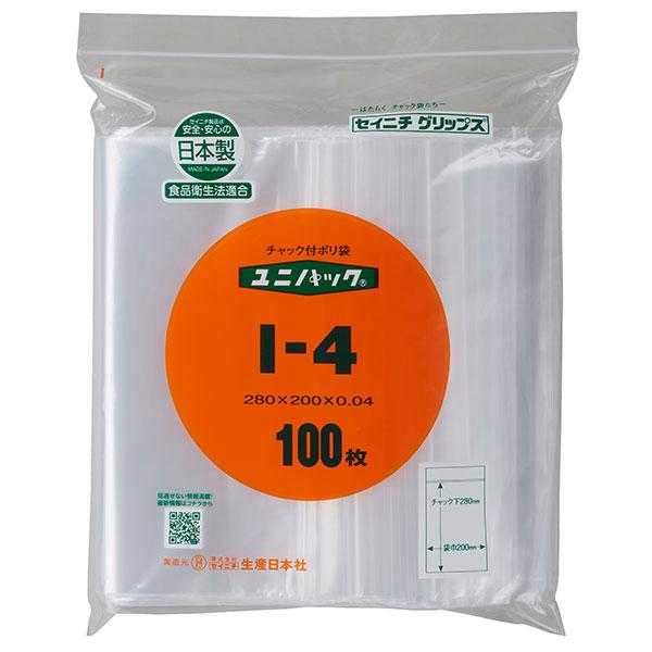 セイニチ ユニパック 0.04タイプ I-4(1ケース2500枚)