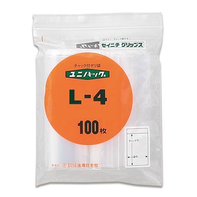 セイニチ ユニパック 0.04タイプ L-4(1ケース800枚)