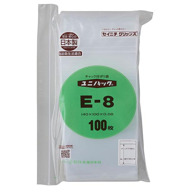セイニチ ユニパック 0.08タイプ E-8(1ケース4000枚)