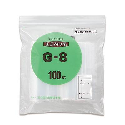 セイニチ ユニパック 0.08タイプ G-8(1ケース2500枚)
