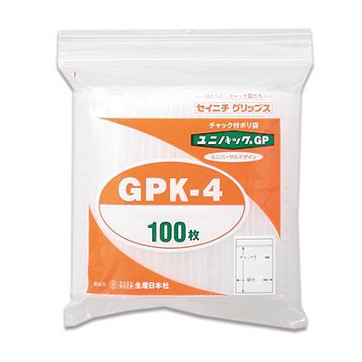 セイニチ ユニパック GPタテ長タイプ K-4(1ケース1000枚)