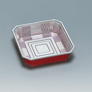 福助工業 使い捨て弁当箱・惣菜・仕出し容器 R-5(同一素材かぶせフタ付)耐熱80℃ 耐油性(1ケース600枚)