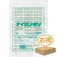 福助工業 ナイロンポリ袋 V No.3(1ケース5,400枚)