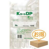 福助工業 KコートOP袋 P No.11A(1ケース2,600枚)