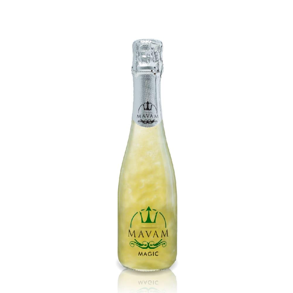 MAVAM MAGIC振るとグラマラスに輝く 新感覚スパークリングワイン マバム 酸味と甘さのバランスが抜群 休日 爽やかに香るりんごの香りは男女ともに人気があります 新感覚スパークリング インスタ映え NEW売り切れる前に☆ パーティー マジック375ml mavam