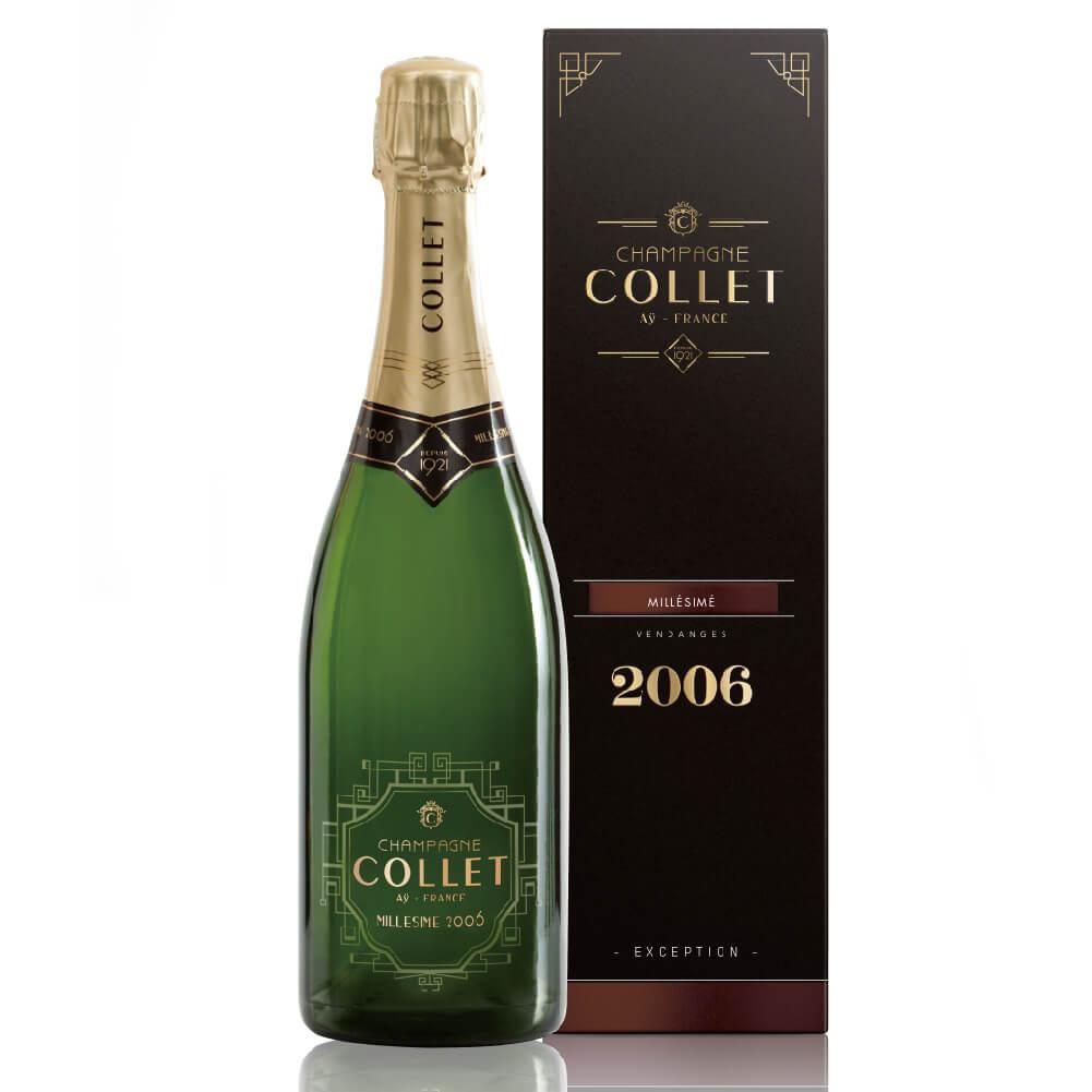 ミレジメ 2006) / 2006 MILLÉSIME COLLET 750ml (CHAMPAGNE 【ボックス入り】シャンパーニュ・コレ