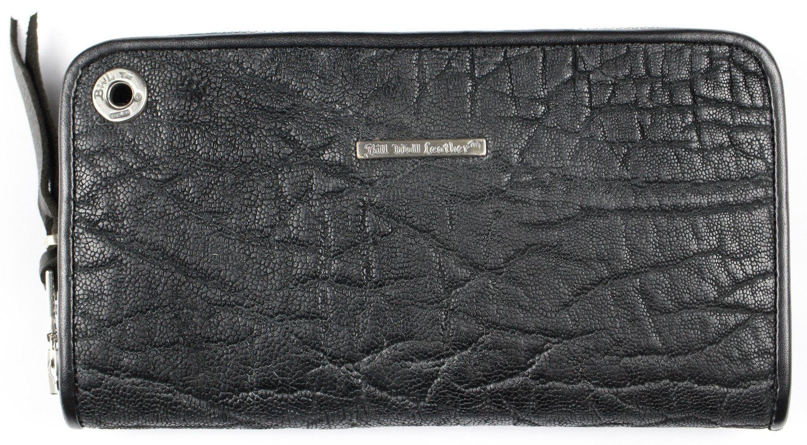 Bill Wall Leather [-Zipper / Elephant- Black]