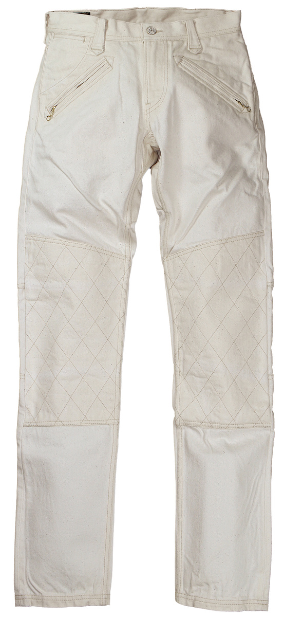 WEST RIDE [-WR1109 PADMOTOPANTS- NATURAL w.28,29,30,31,32,33,34,36,38]