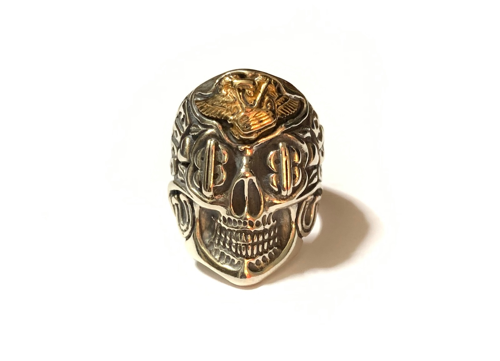 Bill Wall Leather×Jeff Decker [-Skull Ring with Motor(#79)-]