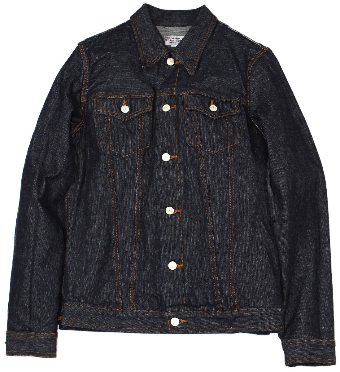 WESTRIDE [-DENIM DEAN JACKET- BLUE size.34,36,38,40,42,44]