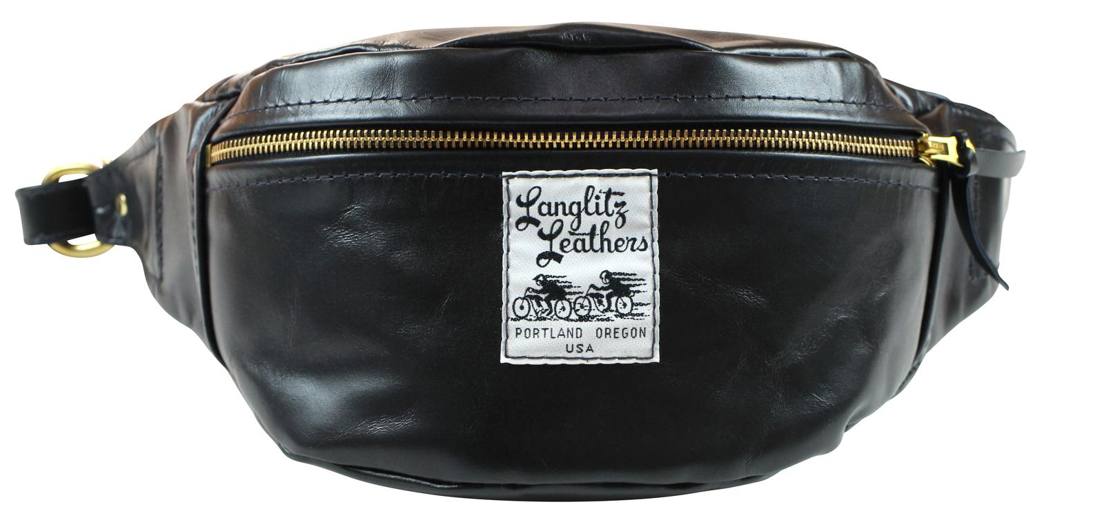 LanglitzLeathers [-Hip Hugger inside Pocket- BLACK]