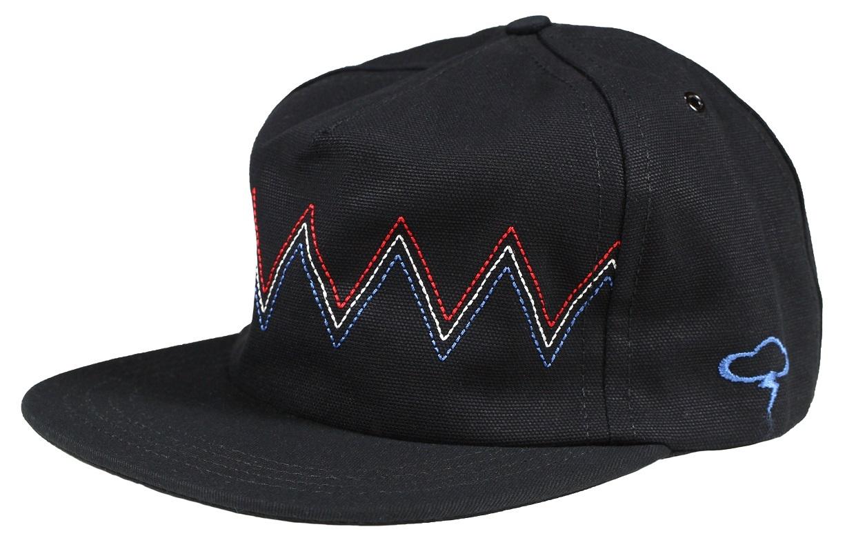 ザアンパルクリエイティブ 帽子 メンズ レディース THE Strapback- BLK 出色 AMPAL CREATIVE 日本全国 送料無料 -MOUNTAINS