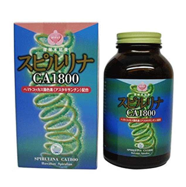 スピルリナ CA 1800 善玉カルシウム配合(送料無料)