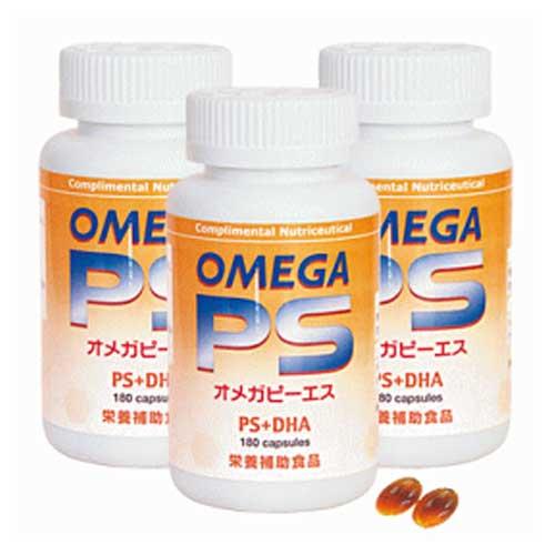 オメガピーエス(オメガPS) 超お得な3本セット (180粒×3)T&H
