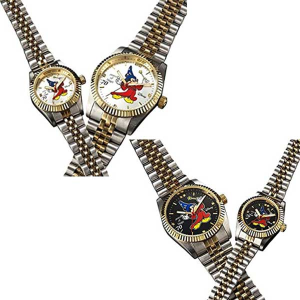 P2倍 ミッキー ファンタジア70周年記念 世界限定ダイヤモンド時計