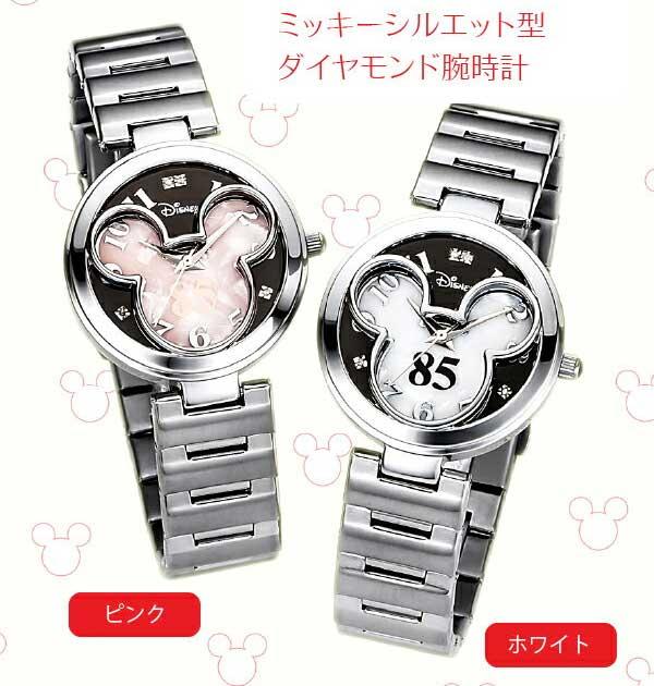 ミッキー生誕85周年記念 世界限定メモリアルダイヤ時計【2倍】
