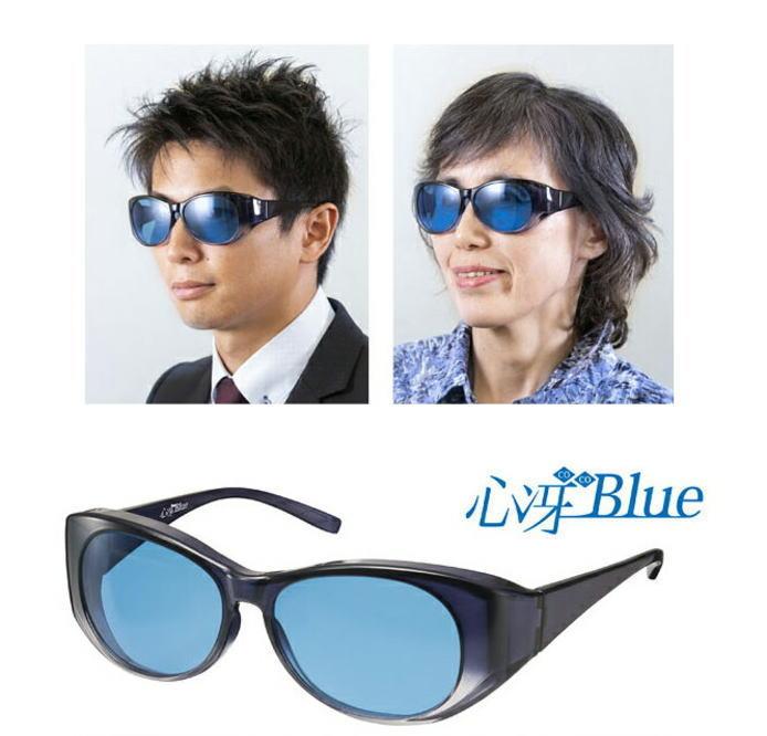 即納★直ぐに使える10%OFFクーポン配布中☆心冴 COCO Blue (ココ ブルー)サングラス