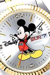 ◎在庫アリ!即日発送!ミッキー世界限定ダイヤモンド腕時計