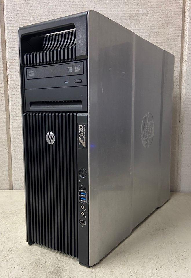 【中古】[CAD用PC!!] HP WorkStation Z620 E5-2643 4Core 3.30GHz/メモリ64GB/SSD 960GB/HDD 4TB/NVIDIA Quadro K4000 3GB/Win10 Pro
