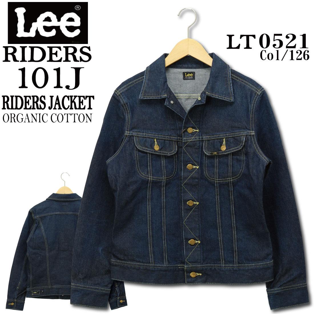 Lee リー 101J LT0521 ライダース ジャケット ジージャン Gジャン デニム ジャケット LT0521-126 メンズ