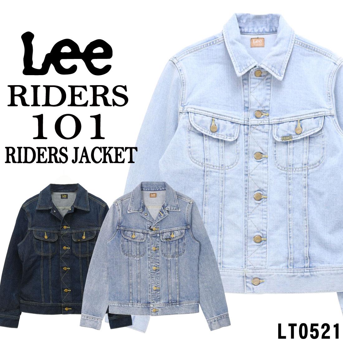 Lee リー 101J ライダースジャケット ジージャン Gジャン デニム ジャケット LT0521 126 156 166 ユーズド加工 メンズ アウター
